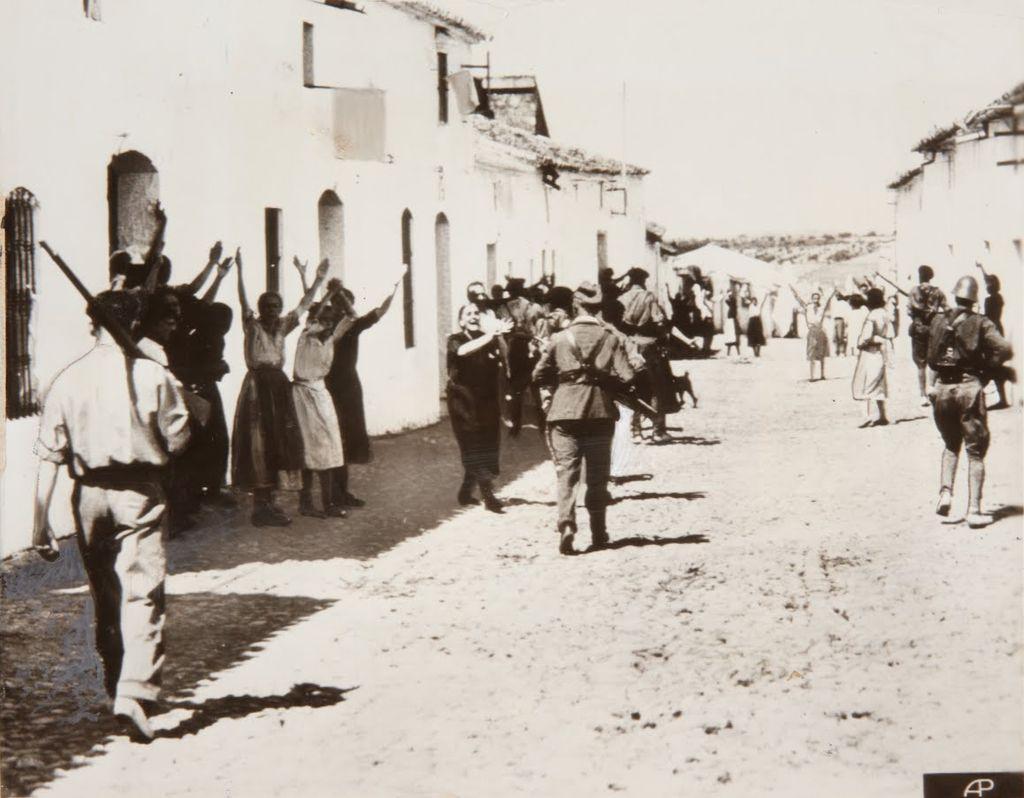 Represión franquista en un pueblo de Sevilla durante la guerra de España