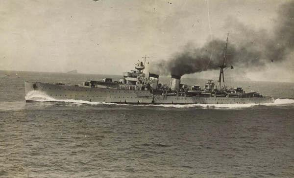 Crucero español Almirante Cervera