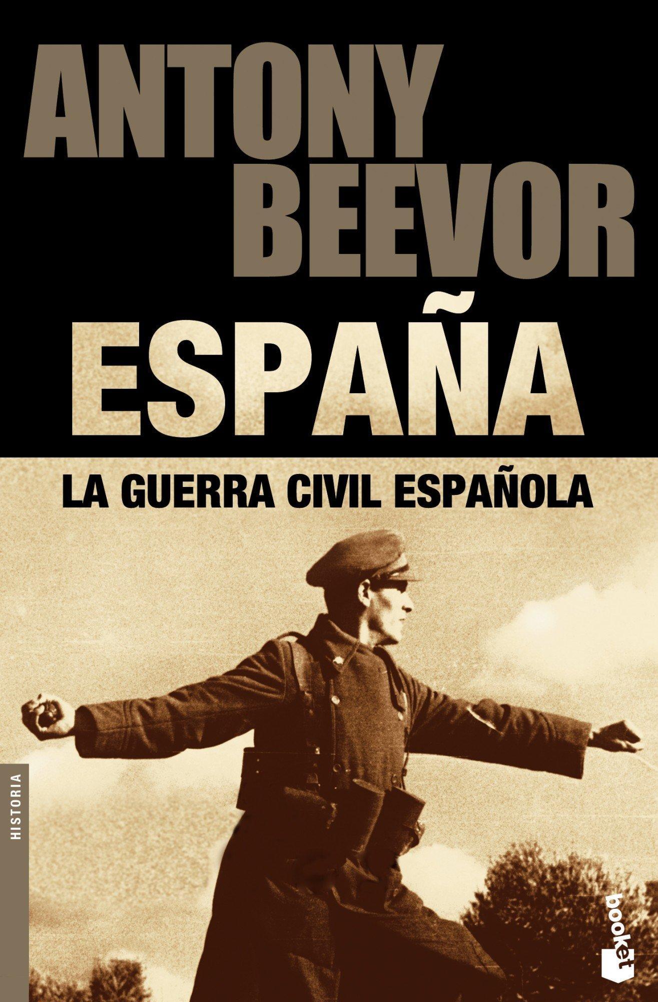 Portada del libro La guerra civil española, de Antony Beevor