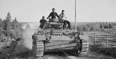 Panzer III alemán en la invasión de Rusia