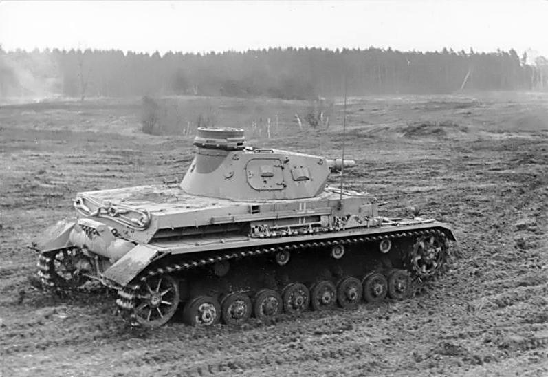 Panzer IV alemán durante la Segunda Guerra Mundial