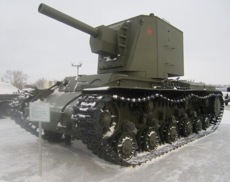 Tanque KV-2 soviético en la Operación Barbarroja