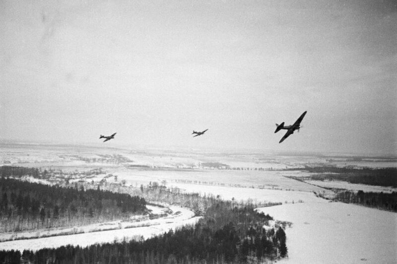 Aviones soviéticos durante la Operación Barbarroja