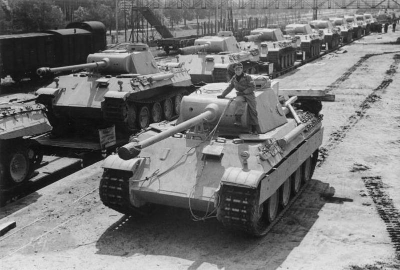 Imagen del Panzer nazi Panther