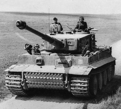 Tanque alemán Tiger de la Segunda Guerra Mundial
