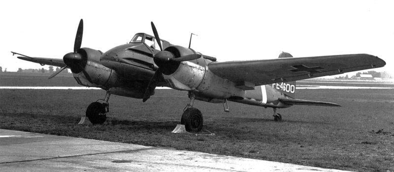 Avión antitanque alemán Henschel Hs 129 en la Segunda Guerra Mundial