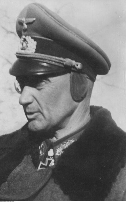 General alemán Otto Moritz Walter Model durante la Segunda Guerra Mundial