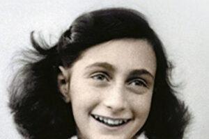 El diario de Ana Frank. Portada del libro. Novela basada en hecho real
