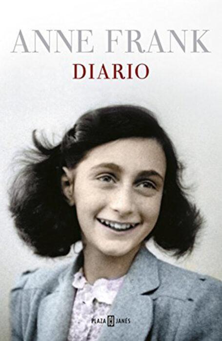 El diario de Ana Frank. Portada del libro