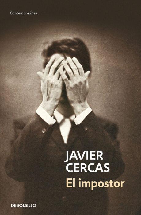 El impostor. Novela de Javier Cercas. Portada del libro
