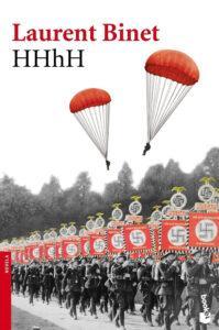 HHhH. Laurent Binet. Novela de acción ambientada en la Segunda Guerra Mundial